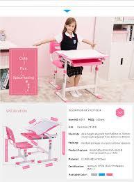Kids Study Desk by Preschool Furniture Ergonomic Children Study Table Chair Set Kids