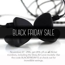 black friday sale on monitors alclair audio on twitter