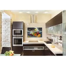 glasbilder küche spritzschutz hinter dem herd oder der spüle artgalerie