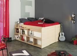 Space Up Ottoman Cabin Bed - Parisot bunk bed