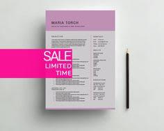 creative resume template creative resume by simplecleanresume