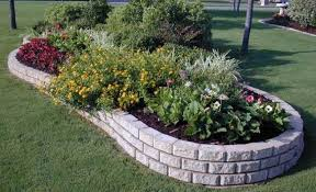 Decorative Stone Home Depot The Advantages Of Using Stone Landscape Edging Ortega Lawn Care