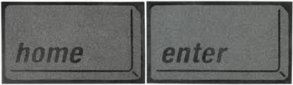 Geek Doormat Home And Enter Keys Doormats Neatorama