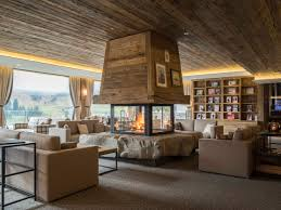 Hotels Interior Chalets At The Peak Of Chic Modern Alpine Retreats Arkitexture