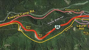 Mt Hood Trail Map Mt Hood History R3 Silent Rock U0026 Map Turn On Vimeo