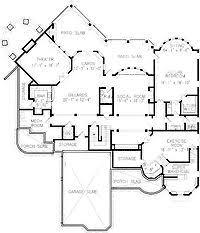 5 Bedroom Floor Plans With Basement 17 Best Dream Home Floor Plans Images On Pinterest Home Plans