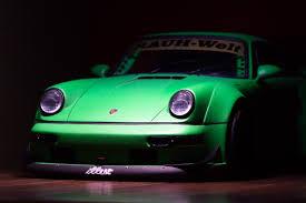 porsche signal green porsche 964 rwb wide body modelcarbeasts com