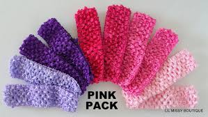 baby headbands headband x10 bulk wholesale crochet band toddler