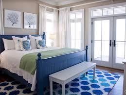 cottage guest bedroom with hardwood floors u0026 crown molding