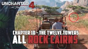 cairns car guide uncharted 4 a thief u0027s end all rock cairn locations not a cairn