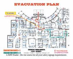 evacuation center floor plan getting them out alive occupational health safety