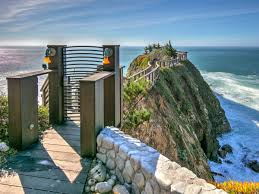 for sale glass house on a cliff above the pacific ocean coastal