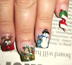 free hand christmas nail designs summer nail designs born pretty