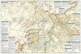 Moab Utah Map by Moab South National Geographic Trails Illustrated Map National