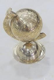 fr cuisine décoratifs laiton globe terrestre par nauticalmart amazon fr