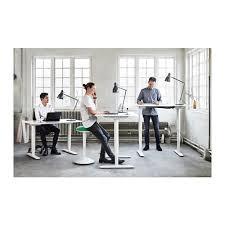 bekant desk sit stand black brown white desks office spaces
