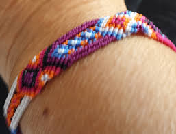 bracelet woven images Woven multi color bracelet schools for chiapas jpg