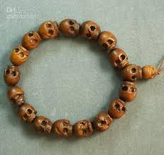 bracelet skull beads images 2018 natural wood skull beads bracelet di7012 ad from buddhist jpg