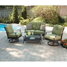 Walmart Furniture Moving Sliders by Better Homes And Gardens Providence 4 Piece Patio Conversation Set