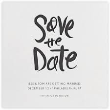 split square save the date paperless post card design
