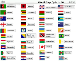 Country Flags Of The World Flags Quiz Answers 1 40 Flag Quiz Android Ios Game Walk