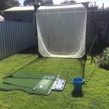 Backyard Golf Nets The Evolution Of Truestrike Golf Mats Truestrike Golf Practice Mats