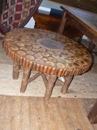 Adirondack Coffee Table - adirondack coffee table patina