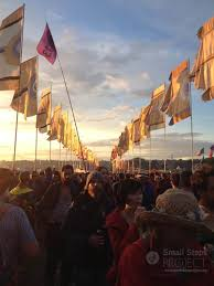 Ssp Flags Glastonbury Festival 2014 Small Steps Project