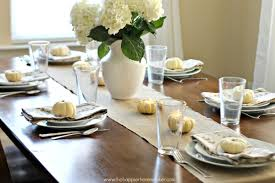 thanksgiving set setting a frugal but beautiful thanksgiving tablescape