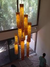 modern lighting for two story foyer modern entry stairway lights