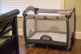 pack n play with changing table 5 ways to use a pack n play a mom s take