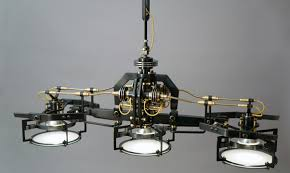 Custom Lighting Frank Buchwald Machine Lights Exclusive Design Of Lamps And