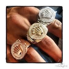 mens crown rings images Diamond crown ring 36471 mens diamond ring yellow gold 14k round jpeg