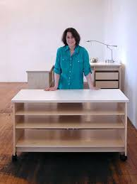 art table with storage artist table with storage art studio rolling work table with