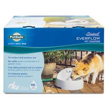 drinkwell everflow indoor outdoor fountain by petsafe pww00 14074