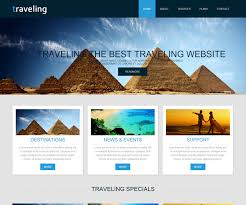 traveling sites images Travel site template gecce tackletarts co jpg