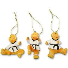 taekwondo gingerbread ornaments tae kwon do ornament set