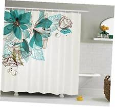 Vintage Style Shower Curtain Shower Curtains In Type Shower Curtain Set Pattern Floral Color