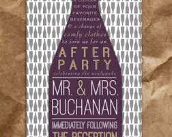 after the wedding party invitations after party invitation oxsvitation