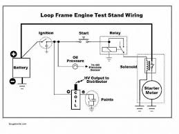 engine test stand wiring diagram and schematic inside