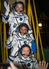 three new crew members arrive at international space station nasa