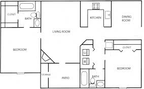 2 bedroom home floor plans simple home plans 2 bedrooms house floor plans