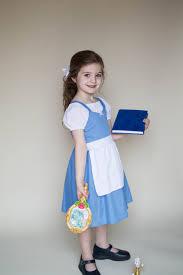 kids belle provincial dress costume apron dress cute princess