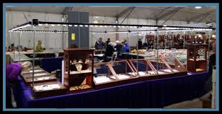 art show display lighting trade show jewelry case display lighting booth lights pop up exhibits