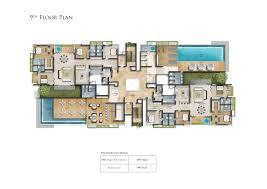 luxury apartment plans the gardenia floor plans 4bhk apartments in nagar chennai for