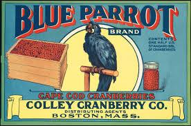 blue parrot brand cape cod cranberries colley cranberry co