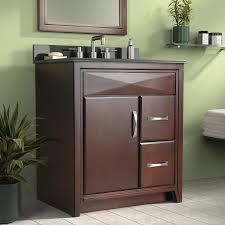 cavett 30 in single bathroom vanity left side drawers at hayneedle