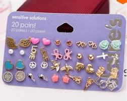 claires earrings 20 pairs s fashion accessories stud earrings womens