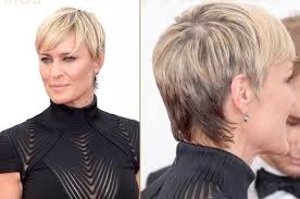 robin wright haircut how to style short hair like robin wright