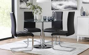 Glass Dining Table  Chairs Glass Dining Sets Furniture Choice - Glass dining room furniture